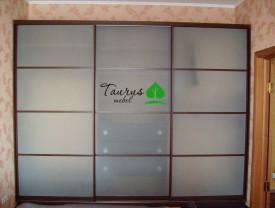 Шкаф-купе - матовое стекло