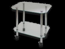Журнальный столик - стекло